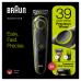 Триммер для бороды Braun BT3241 + Бритва Gillette