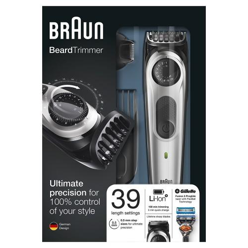 Триммер для бороды Braun BT5065 + Бритва Gillette