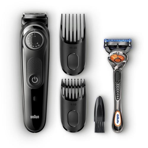Триммер для бороды Braun BT5242 + Бритва Gillette