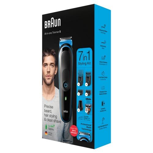 Триммер универсальный Braun MGK5245, 7-в-1 + Бритва Gillette