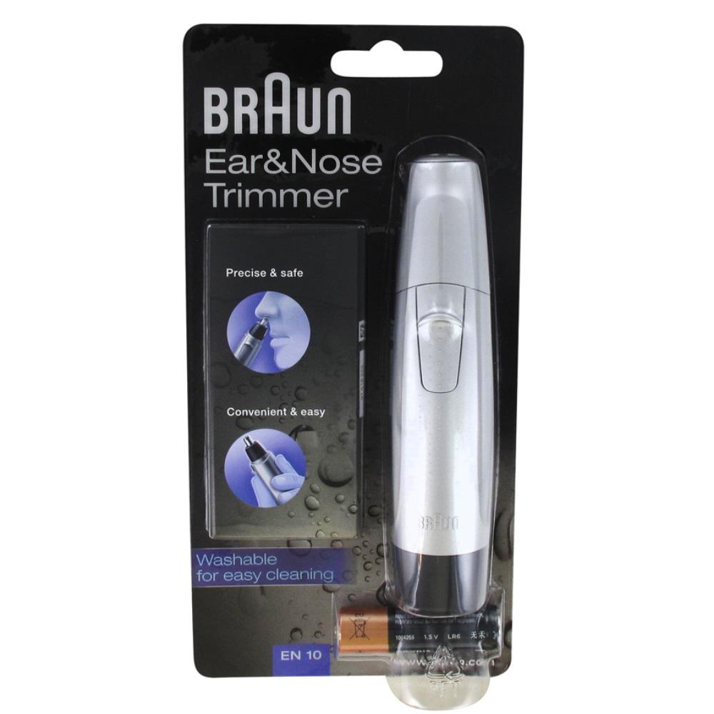 Триммер для носа и ушей Braun Ear&Nose EN10