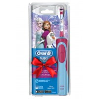 Детская э/щетка Braun Oral-B Kids Vitality StagesPower Frozen D12.513 + паста