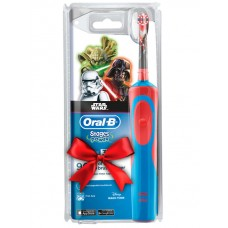 Детская э/щетка Braun Oral-B Kids Vitality StagesPower StarWars  D14.513 + паста