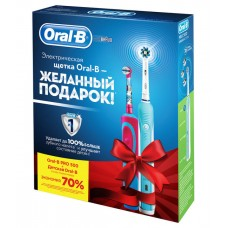 Набор Braun Oral-B Family Pack (Professional Care 500 + Frozen Kids)