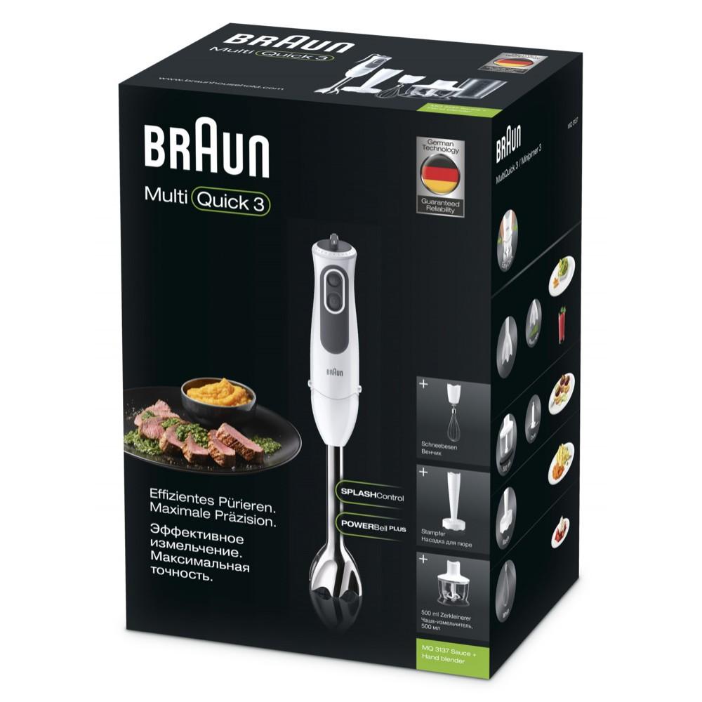 Погружной блендер Braun Multiquick 3 MQ3137 Sauce +