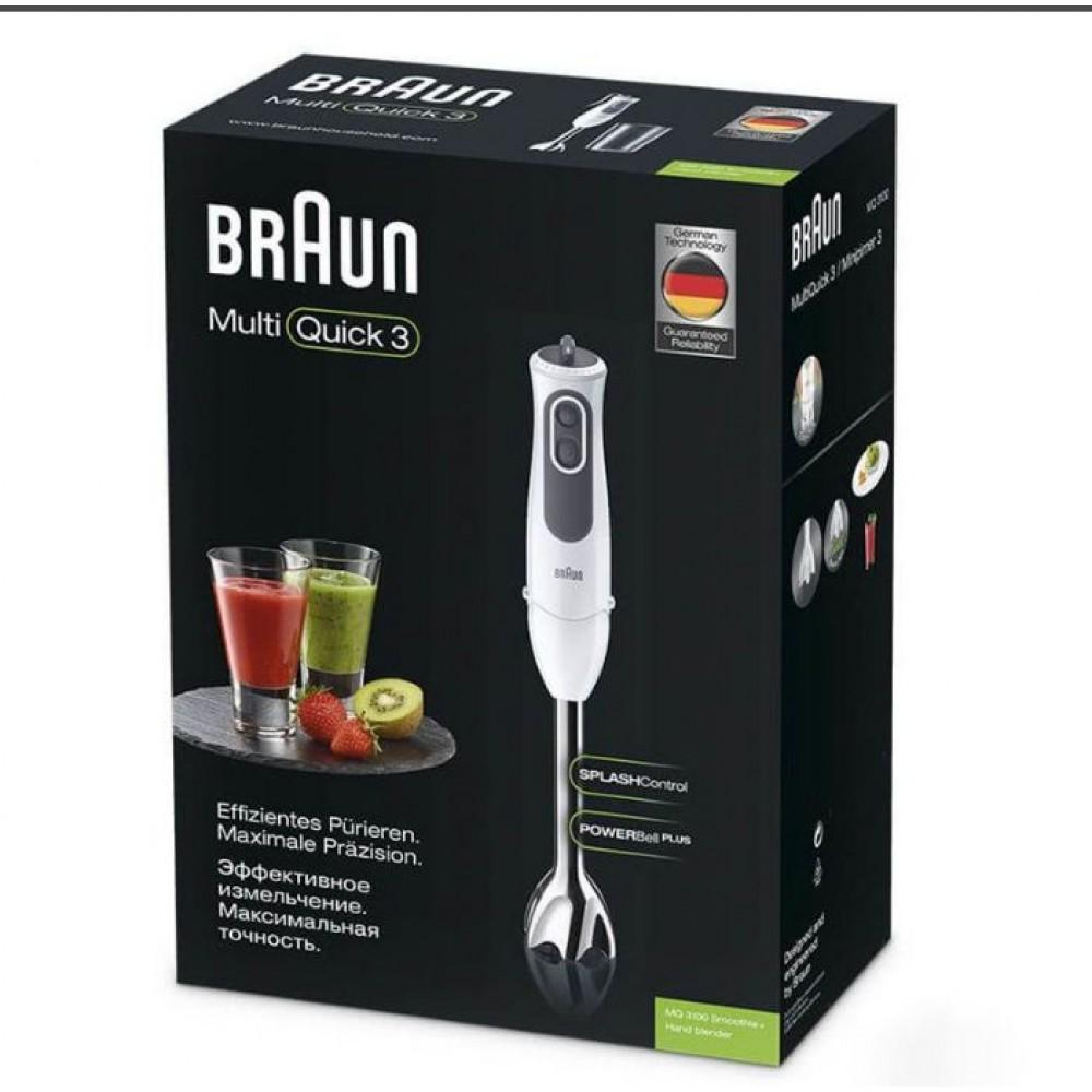 Погружной блендер Braun Multiquick 3 MQ3100 Smoothie +