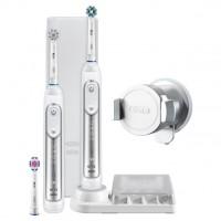 Набор электрических зубных щеток Oral-B Genius 8900 White D701.535.5XC (2 шт)