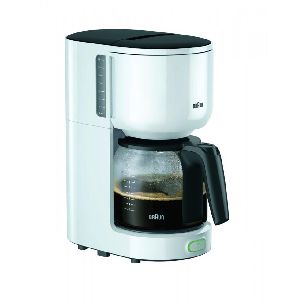 Капельная кофеварка Braun KF 3100 WH белая