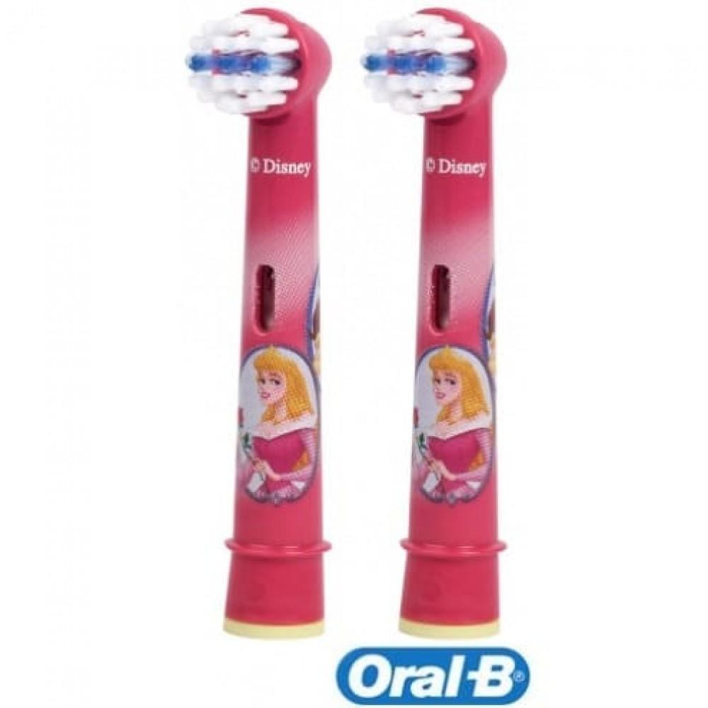 Детская зубная щетка на батарейках Oral-B Stages Power Princess Kids B4.510K