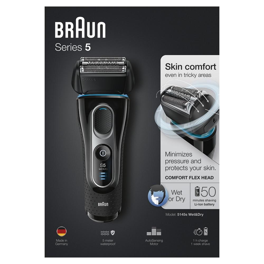 Электробритва Braun Series 5 5145s с тканевым футляром