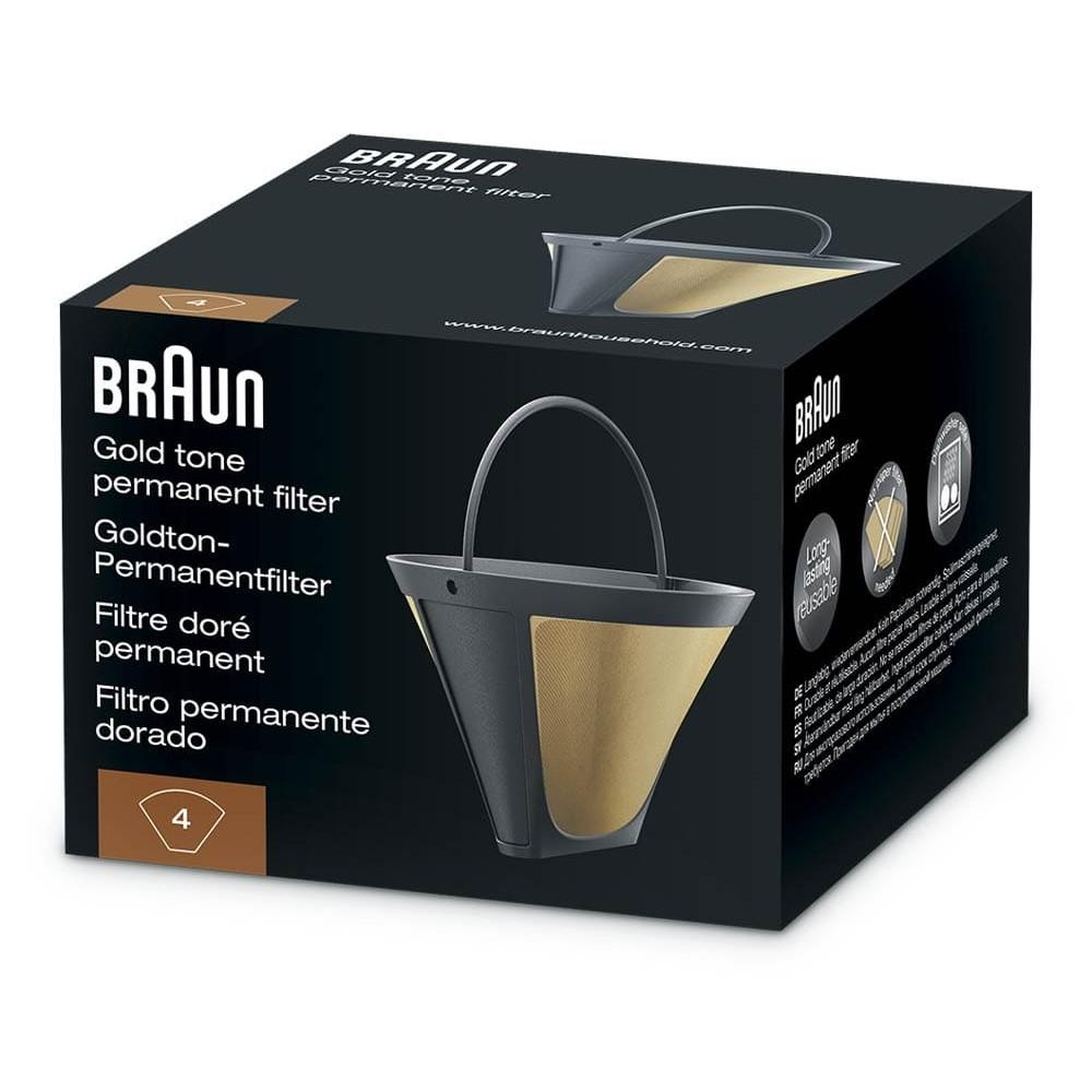 Многоразовый фильтр для капельных кофеварок Braun