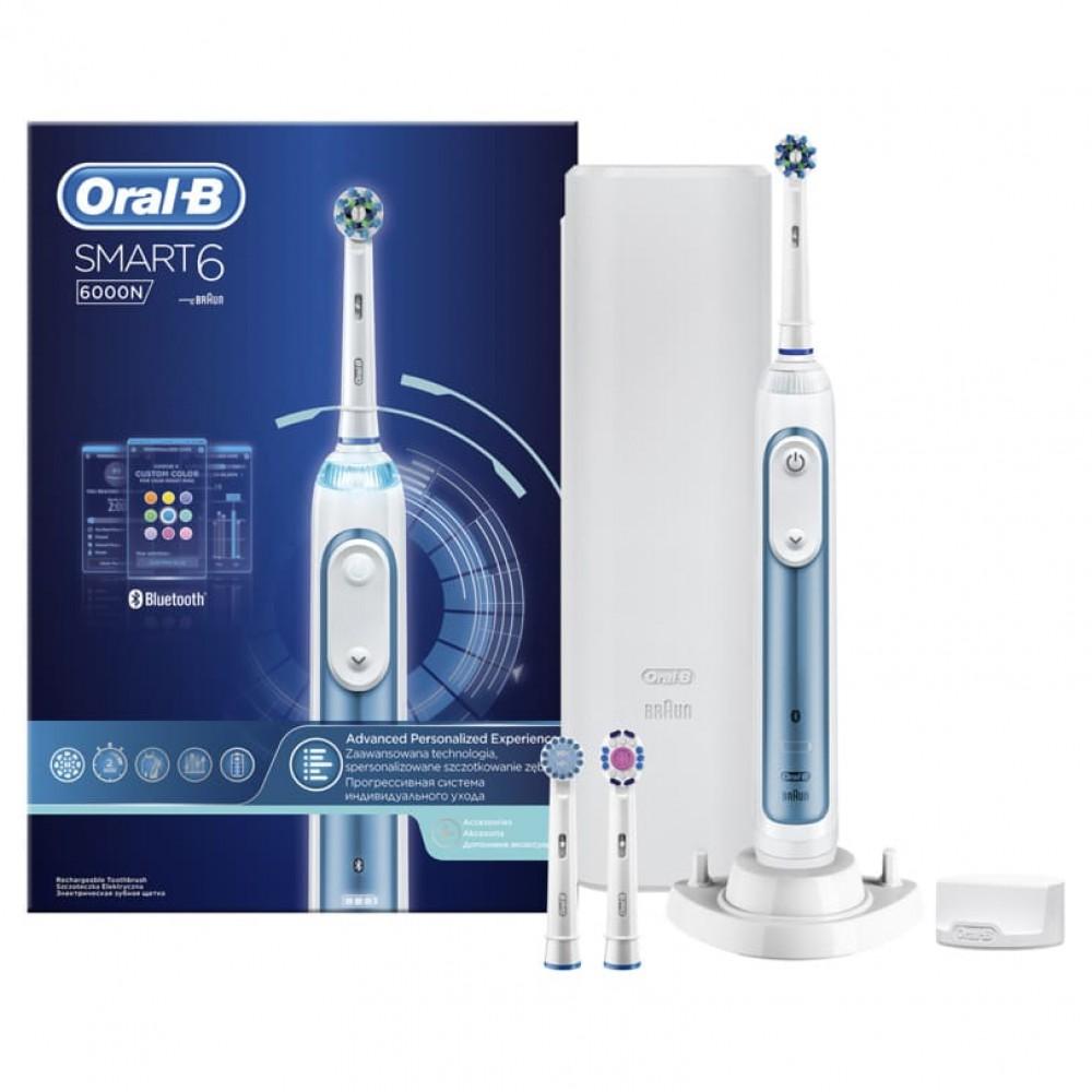 Электрическая зубная щетка Oral-B Smart 6 6000N D700.534.5XP
