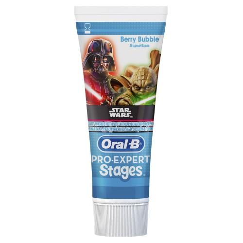Зубная паста Oral-B ProExpert Stages Ягодный Взрыв (Berry Bubble) Star Wars 75мл
