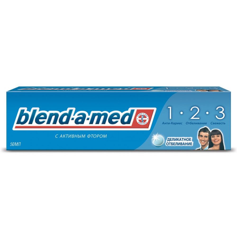 Зубная паста BLEND-A-MED 3-эффект Деликатное отбеливание 50мл