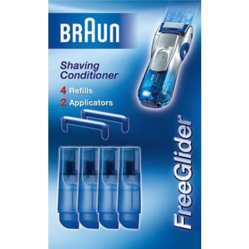 Гелевый картридж SCR4 для бритвы Braun FreeGlider