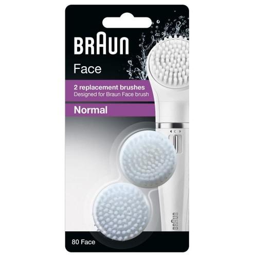 Сменная щеточка для очищения лица Braun SE80 Face