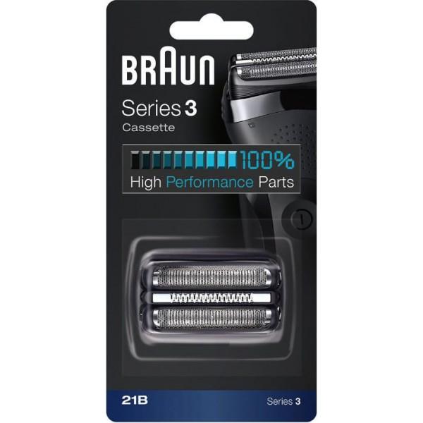 Сетка и режущий блок Braun Series 3 21B запчасти