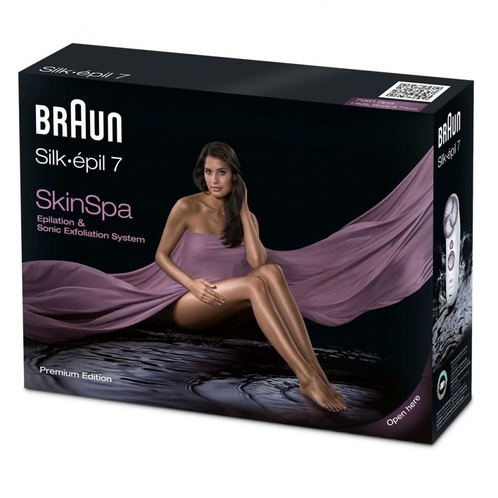 Эпилятор Braun Silk-epil 7 SkinSpa - 7961 Wet&Dry
