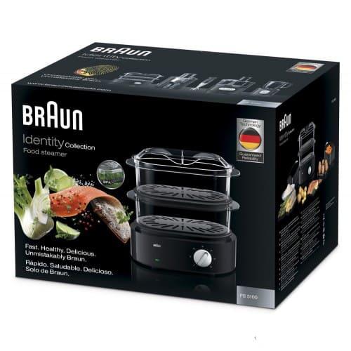 Пароварка Braun FS5100BK черная