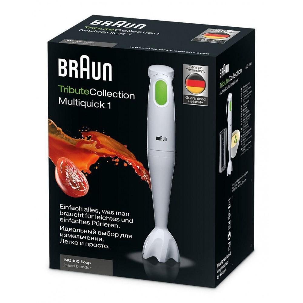 Погружной блендер Braun Multiquick 1 MQ100 Soup