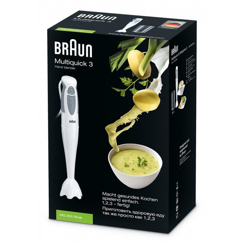 Погружной блендер Braun Multiquick 3 MQ300 Soup