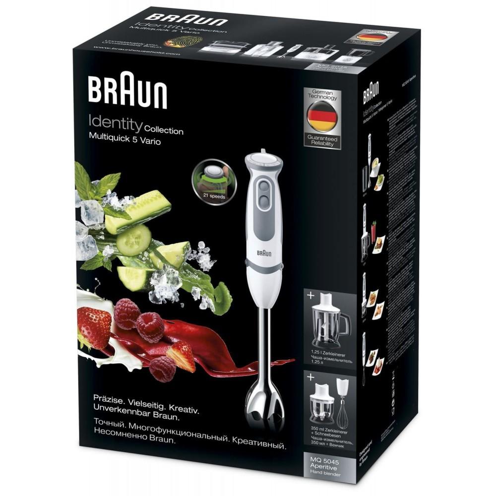 Погружной блендер Braun Multiquick 5 Vario MQ5045 Aperitive