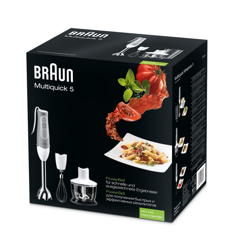 Погружной блендер Braun Multiquick 3 MQ325 Omelette