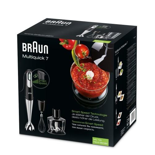 Погружной блендер Braun Multiquick 7 MQ735 Sauce