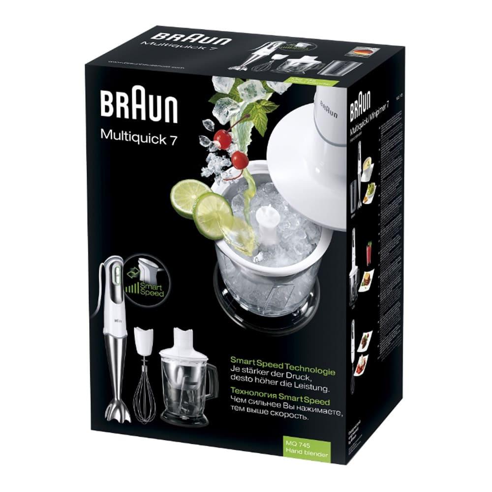 Погружной блендер Braun Multiquick 7 MQ745 Cocktail