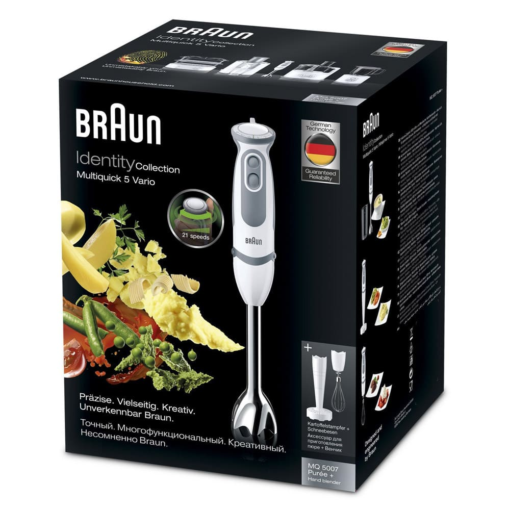 Погружной блендер Braun Multiquick 5 Vario MQ5007 Puree