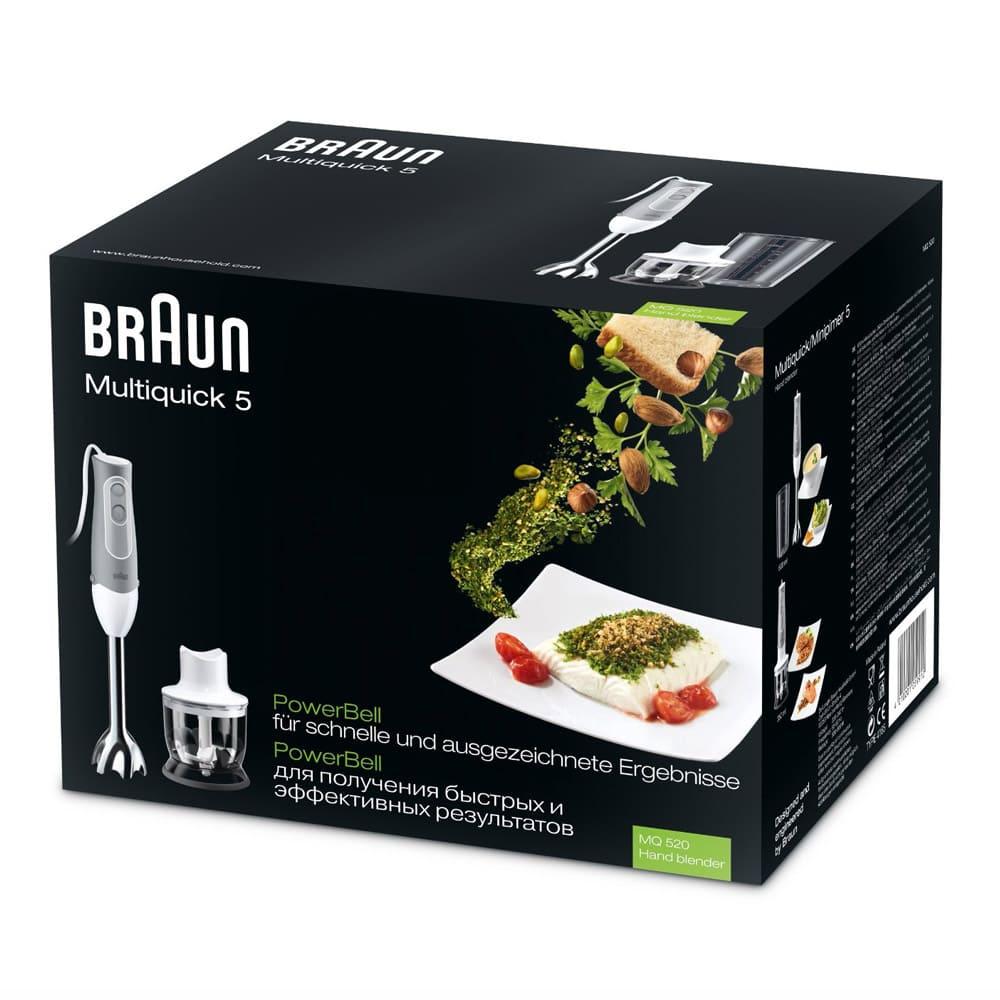 Погружной блендер Braun Multiquick 5 MQ520 Pasta
