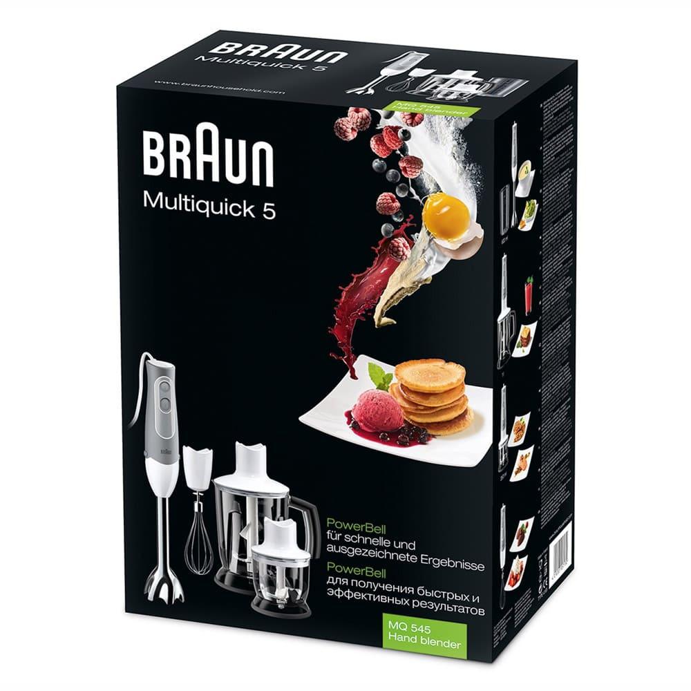 Погружной блендер Braun Multiquick 5 MQ545 Aperitive