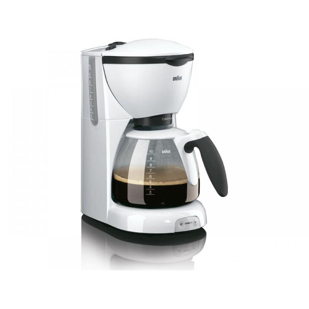 Капельная кофеварка Braun CafeHouse PurAroma KF 520/1 WH белый