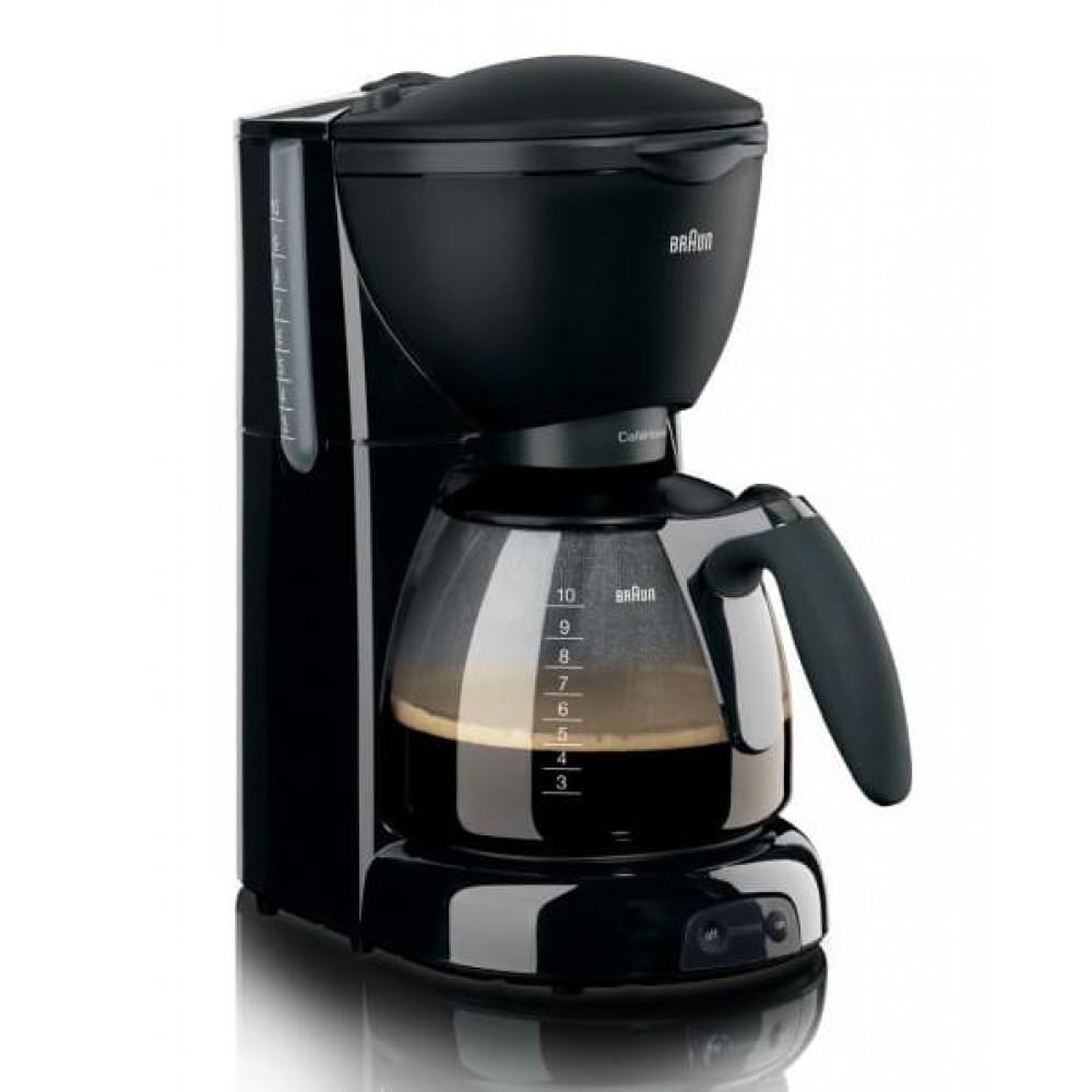Капельная кофеварка Braun KF 560/1 BK чёрная
