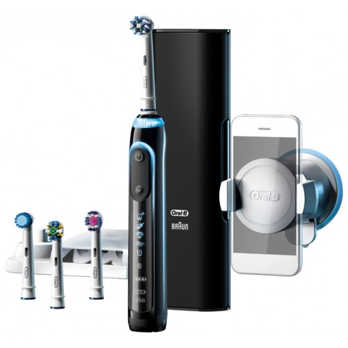 Электрическая зубная щетка Oral-B Genius 9000 Black D 701.545.6X