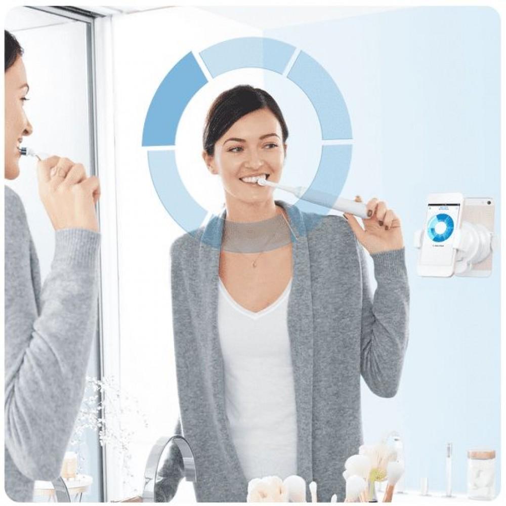 Электрическая зубная щетка Oral-B Genius 9000 Rose Gold D 701.545.6X