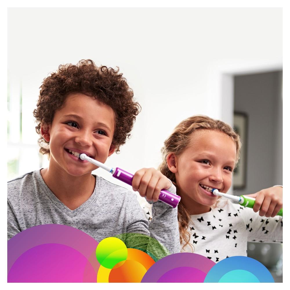 Детская электрическая зубная щетка Oral-B Pro 400 Junior Sensi Ultrathin D 16.513.1