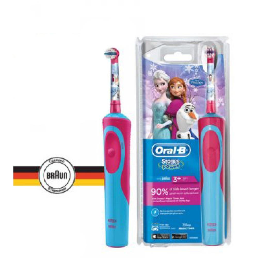 Детская э/щетка Braun Oral-B Stages Power Frozen Kids D12.513