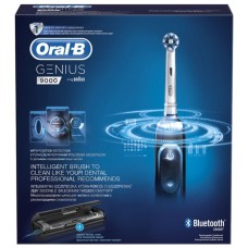 Э/щетка Braun Oral-B Genius 9000 Black D701.545.6X (чёрная)