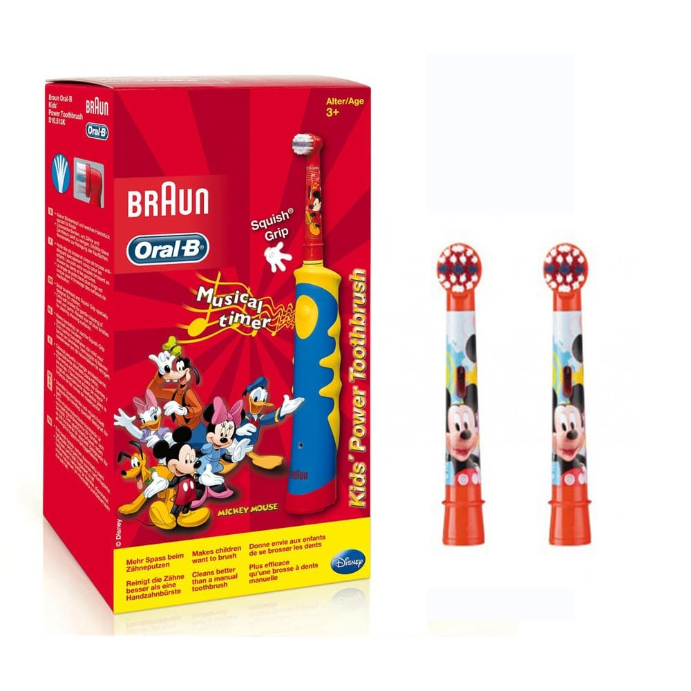 Детская э/щетка Braun Oral-B Mickey Kids D10.513K