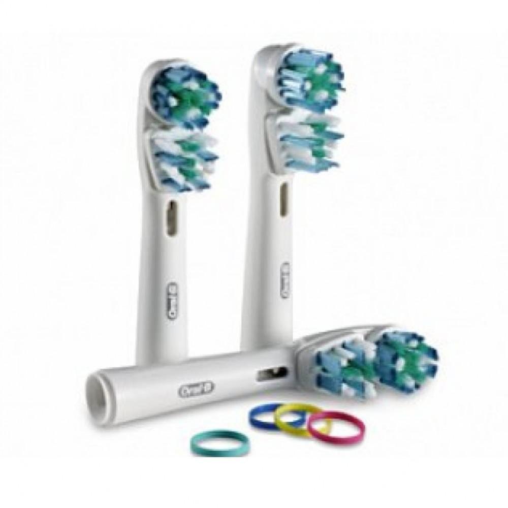 Насадка для зубных щеток Oral-B Dual Action (3 шт) EB 417-3