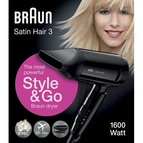 Фен Braun Satin Hair 3 Style&Go HD350