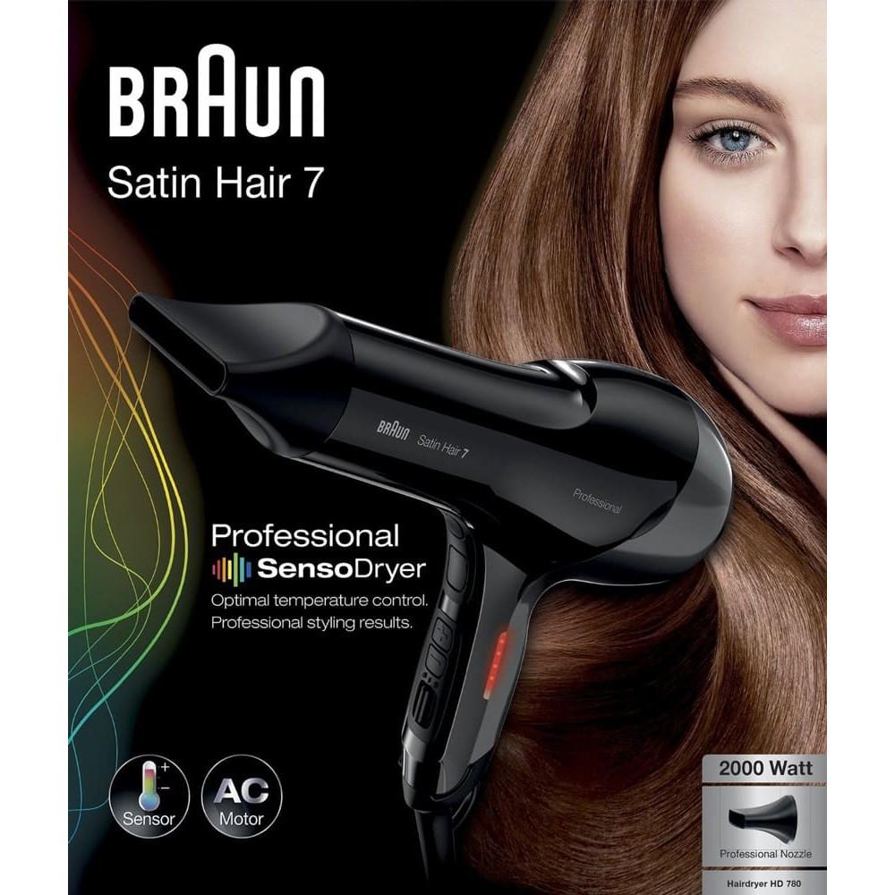 Фен Braun Satin Hair 7 SensoDryer HD780 Solo