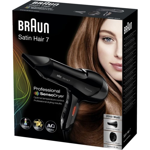 Фен Braun Satin Hair 7 SensoDryer IONTEC HD785 Diffuser