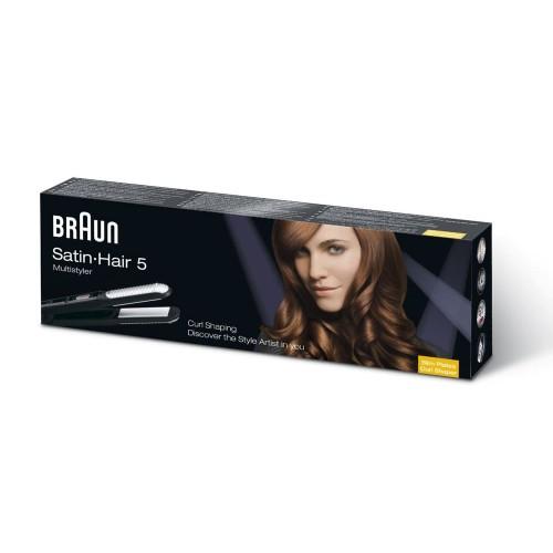 Стайлер для выпрямления волос Braun Satin Hair ST 550 MN