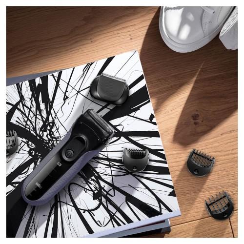 Электробритва Braun Series 3 Shave&Style 3000bt + насадка-триммер и 5 гребней