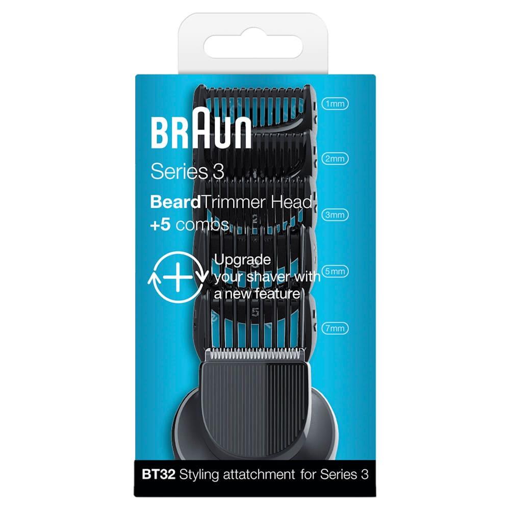 Комплект насадок для бритв Braun Series 3 Braun BT32
