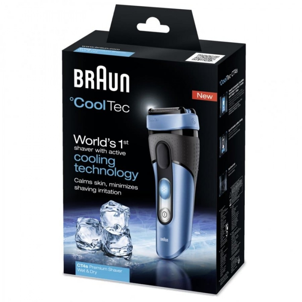 Электробритва Braun °CoolTec CT4s