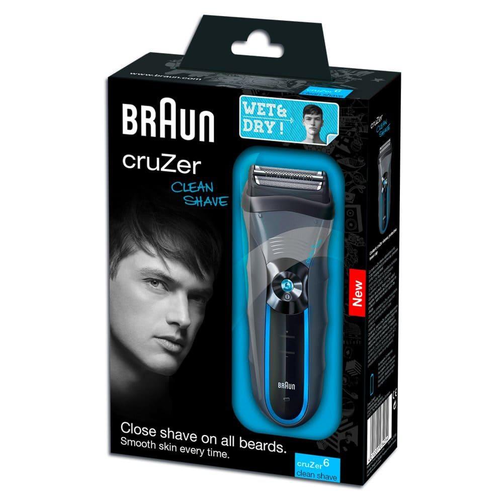 Электробритва Braun CruZer6 clean shave