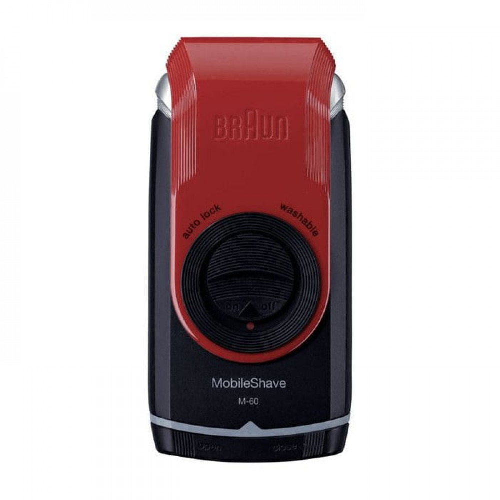 Электробритва Braun MobileShave M-60 Red